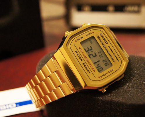 Casio Armbanduhr in Gold: Stilsicher und klassisch zugleich