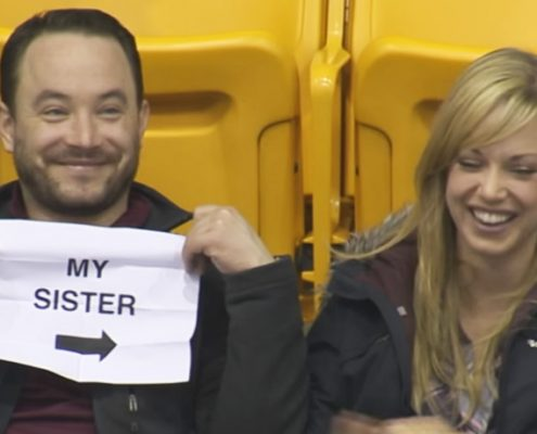 Kiss Cam in Minnesota