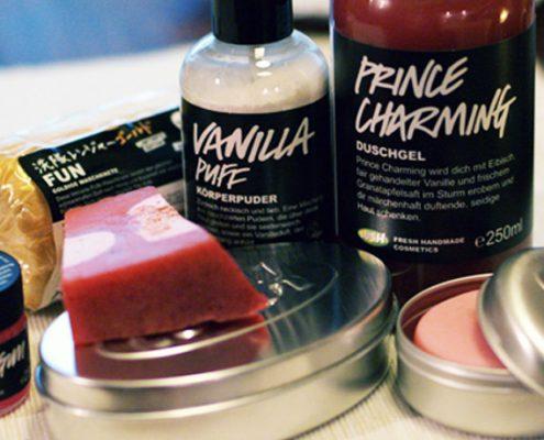 LUSH Kosmetik vegetarisch und ohne Palmöl