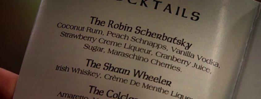 HIMYM Cocktail aus der Serie