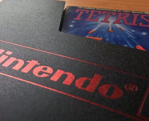 Original Nintendo Schuber für den Vitrinenschrank