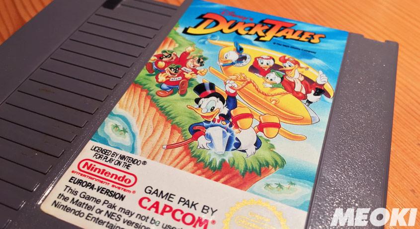 Spielmodul von DuckTales in Europa