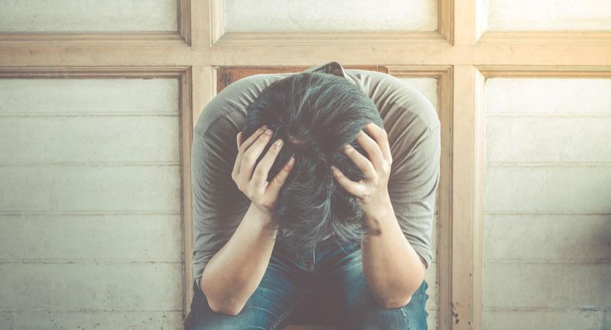 Verzweifelte Trennungsschmerzen