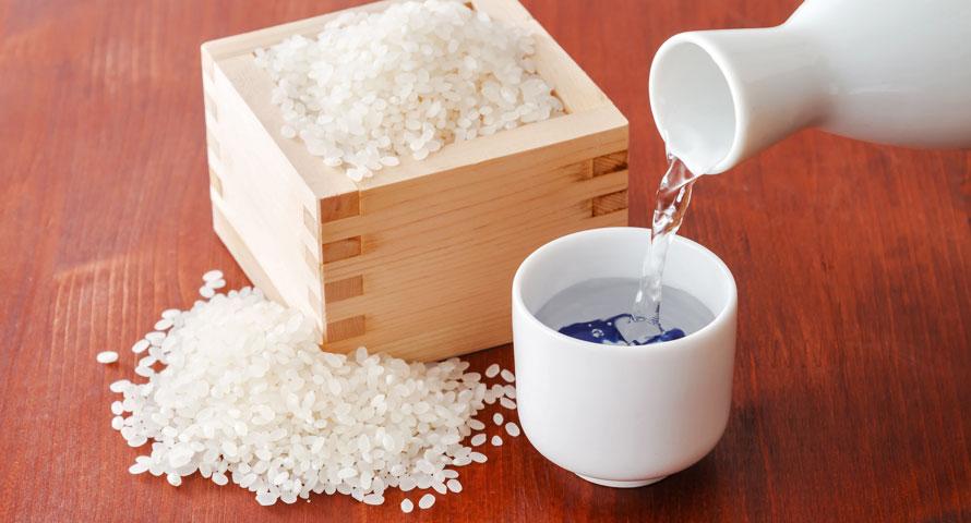 Herstellung von klassischem Sake