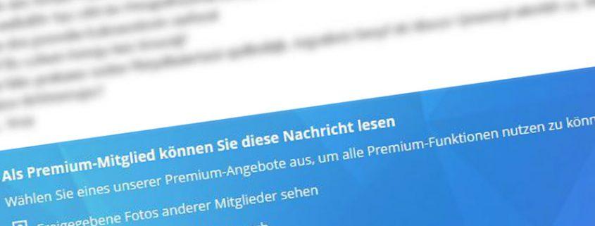 Bei Parship eine Nachricht verschicken ohne Premium Status?