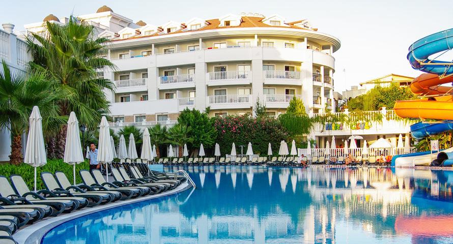 Traumhafte Thermenhotels in der Türkei