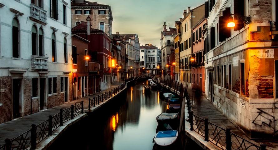 Städtetraum wird Wirklichkeit in Venedig