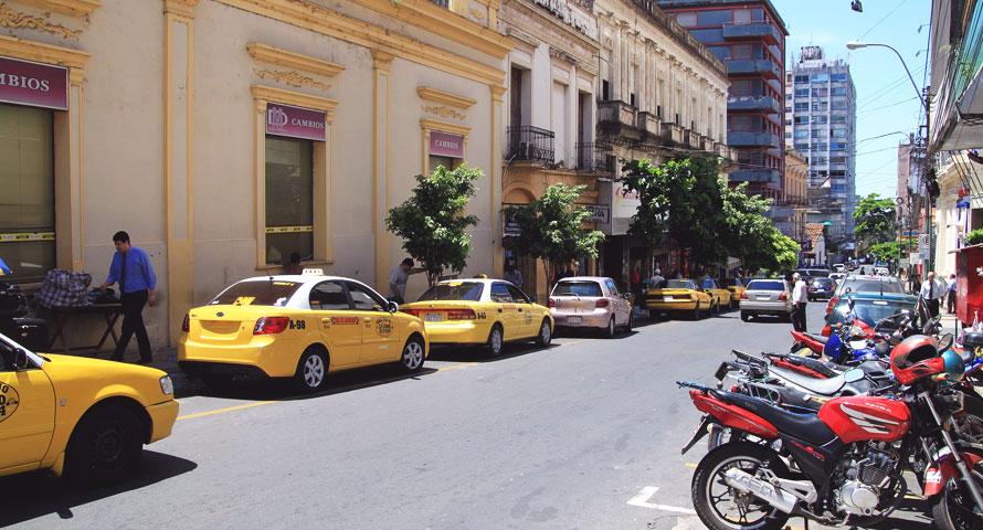 Die Hauptstadt von Paraquay Asunción