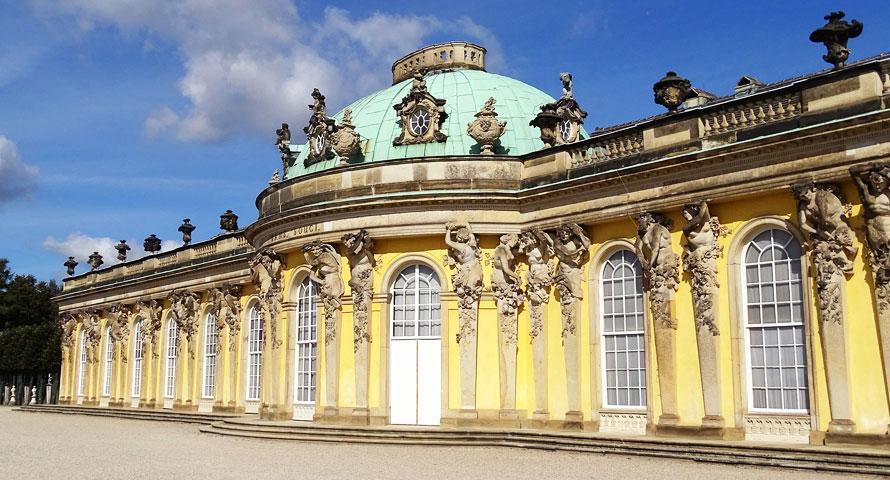 Brandenburg ohne sein Schloss Sanssouci - unvorstellbar