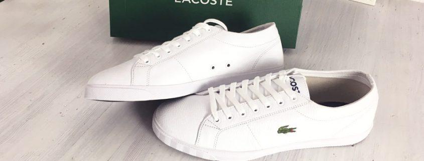 Lacoste Riberac LCR3 Sneaker in White