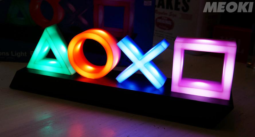 Playstation Icons Light – die Tischleuchte als Deko für Zocker