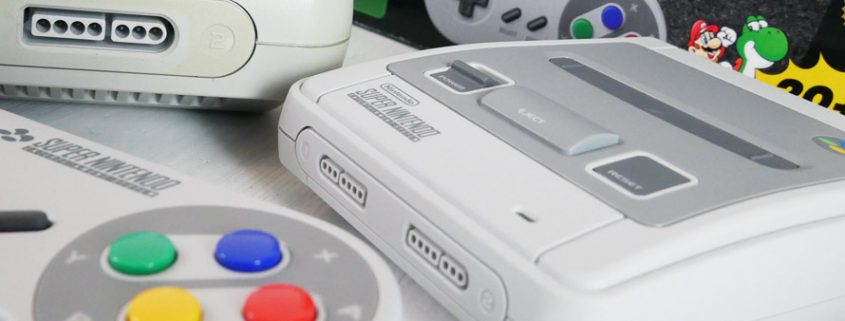 Super NES Classic Unboxing