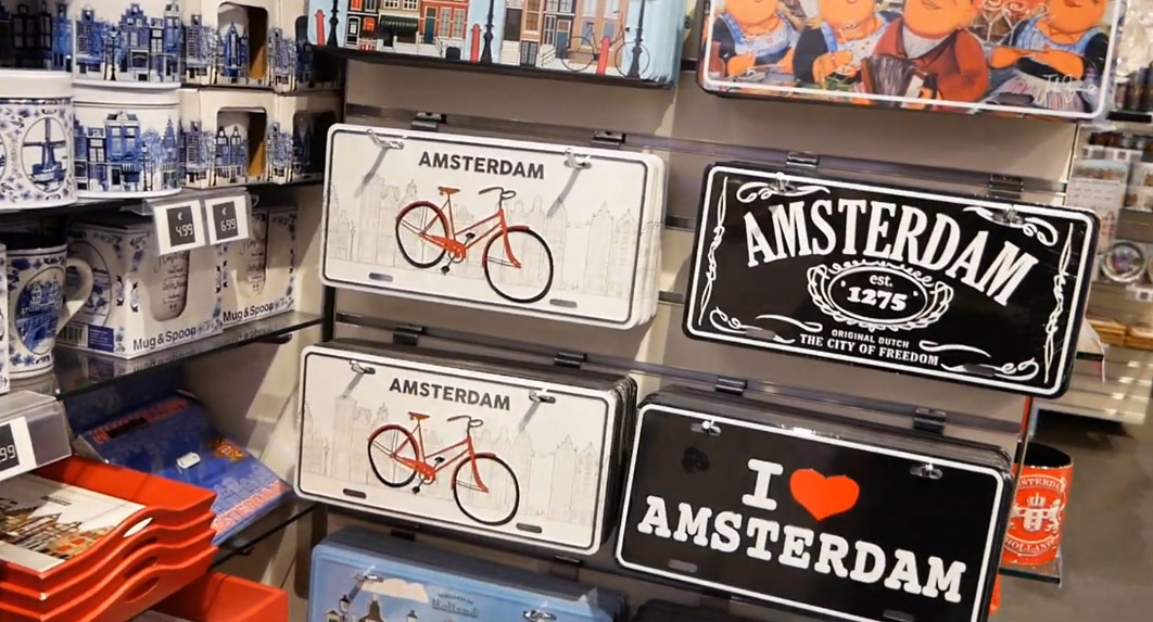 Typical Amsterdam Souvenirs