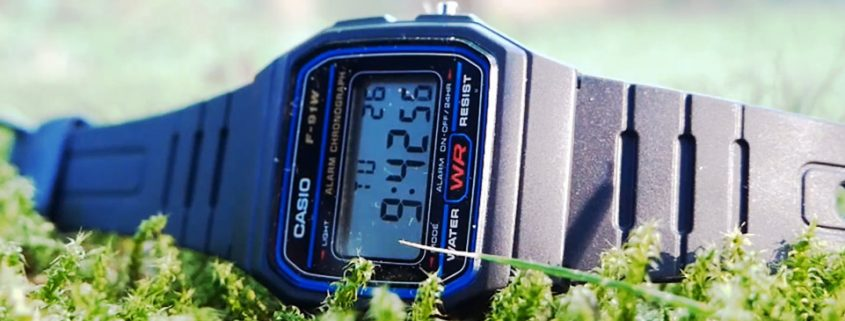 Casio F91W - Classic Digital Watch from 1991
